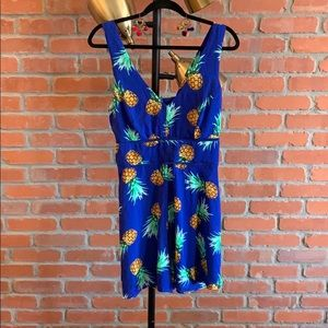 Other - Charlotte Russe pineapple romper